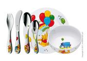 Детская посуда с приборами из нержавеющей стали от «WMF»